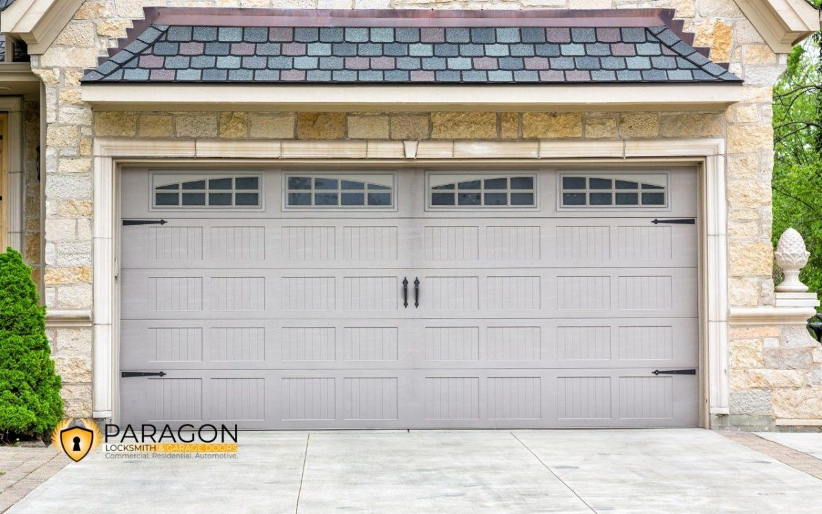 How to Fix a Dented Garage Door?